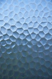 Texture abstraite bleue en verre de conception. Photos stock
