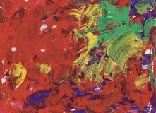 Texture abstraite colorée d'aquarelle Images libres de droits