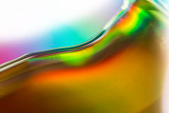 Texture abstraite colorée d'aquarelle Photographie stock libre de droits