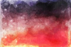 Texture abstraite d'aquarelle Images stock