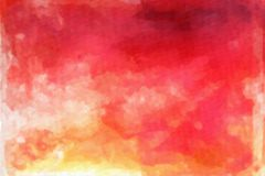 Texture abstraite d'aquarelle Images libres de droits