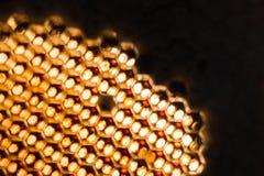 Texture abstraite de cire d'abeille Photographie stock libre de droits