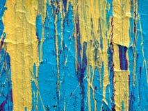 Texture abstraite de fond d'égouttement de peinture Image libre de droits
