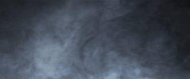 Texture abstraite de fumée au-dessus de fond noir Regain dans la densité photos libres de droits