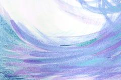 Texture abstraite de peinture à l'huile sur la toile, fond Photo libre de droits