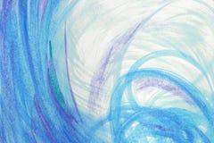 Texture abstraite de peinture à l'huile sur la toile, fond Image stock