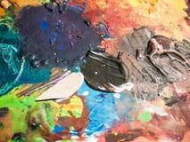 Texture abstraite de peinture photographie stock