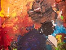 Texture abstraite de peinture images stock