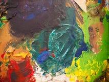 Texture abstraite de peinture photographie stock libre de droits