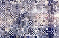 Texture abstraite de tuile Photographie stock libre de droits