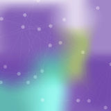 Texture abstraite de vecteur de fond avec des points et s Images libres de droits