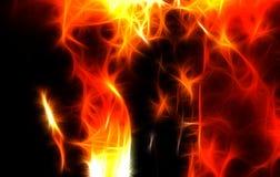 Texture abstraite du feu Photographie stock libre de droits