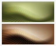 Texture abstraite du fond deux Images stock
