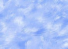 Texture abstraite en verre d'hiver de glace congelée Photo stock