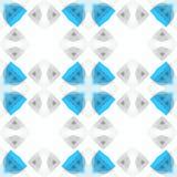 Texture abstraite grise blanche bleu-clair Tuile sans couture Illustration simple de fond Modèle d'impression de textile Tissu à  illustration libre de droits