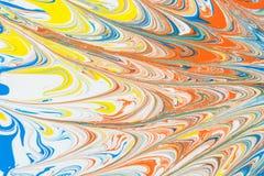 Texture abstraite, illustration du modèle créé par des peintures de couleur, fond d'art Photo stock