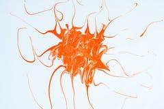 Texture abstraite, illustration du modèle créé par des peintures de couleur, fond d'art Photographie stock