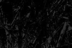 Texture abstraite monochrome de grunge de vecteur Illustration grise et noire Abrégé sur croquis pour créer l'effet affligé recou Photographie stock libre de droits