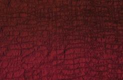 Texture abstraite rouge criquée Images libres de droits
