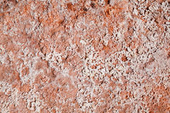 Texture with acidic crystals. On old stone stock image