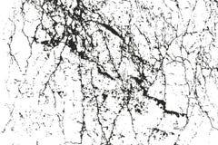 Texture affligée de recouvrement de béton criqué Photo libre de droits