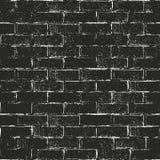 Texture affligée de recouvrement de vieille brique illustration stock