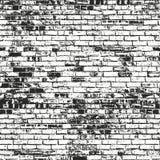 Texture affligée de recouvrement de vieille brique Photographie stock