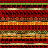 Texture africaine avec des animaux Photos libres de droits