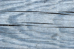 Texture of aged wooden board. With cracks Royalty Free Stock Image