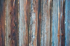 Texture aging wall from wood. Log Royalty Free Stock Image