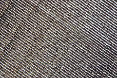 Texture of aluminium foil Royalty Free Stock Image