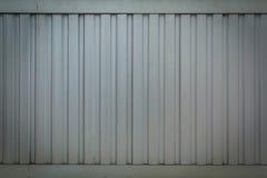 Texture of aluminium wall Royalty Free Stock Images