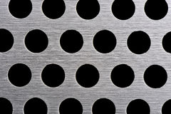 Texture of aluminum plate Royalty Free Stock Images