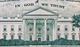Texture américaine du dollar Photo libre de droits