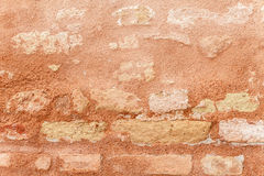 Texture Of Ancient Brick Wall In Close Up Stock Photography