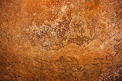 Texture of ancient copper metal surface, abstract background, wallpaper Stock Photo