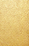 Texture of Ancient Gold Thai style pattern Stock Photography