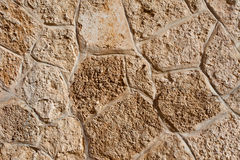 Texture of ancient masonry Royalty Free Stock Images