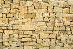 Texture of ancient stone wall Stock Photos