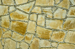 Texture of ancient stone wall Stock Image