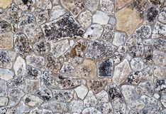 Texture of ancient stone wall Royalty Free Stock Image