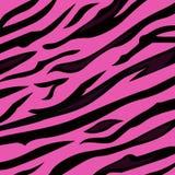 Texture animale de peau de tigre de rose de configuration de fond Image stock