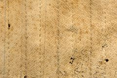Texture. Antique beige leather Royalty Free Stock Photography