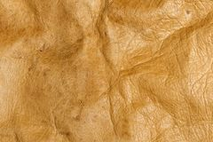 Texture. Antique beige leather Stock Image