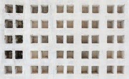 Texture antique blanche de mur Photographie stock libre de droits