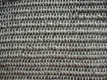 Texture of antique chain mail Stock Photos