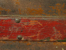 Texture antique chest Stock Photography