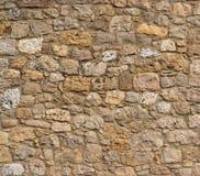 Texture antique de mur en pierre Images libres de droits
