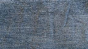 Texture approximative bleue de jeans Photographie stock libre de droits