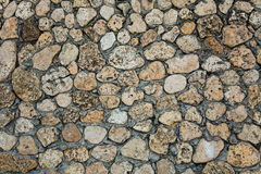 Texture approximative de mur en pierre Photos stock
